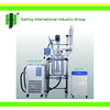 S212-100L high quality jacketed glass reactor/glass chemical reactor
