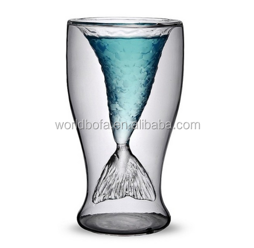 100ML Mermaid Lover vodka wine shot glass cup beer mug
