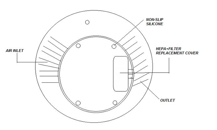 small ozone generator   home ionizer air purifier car air