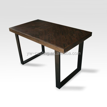 China Oem Service High Quality Wooden Furniture Metal Folding Table Legs