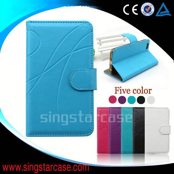 wallet leather flip case cover for apple iphone 3g