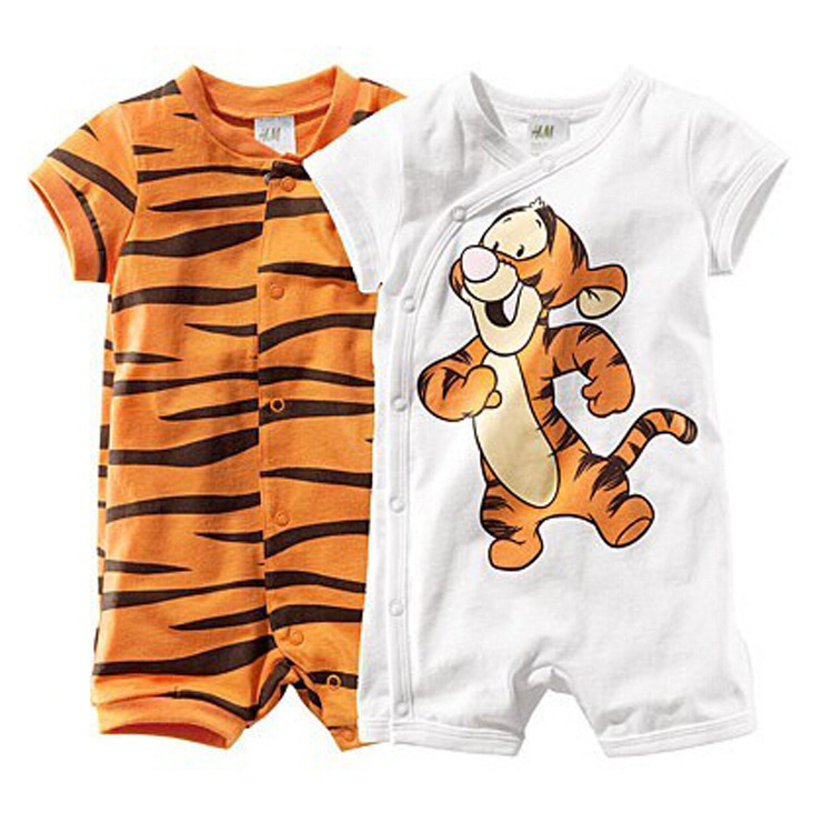 Baby rompers Tiger new born jumpsuit one piece wear baby boy clothes recem nascido roupa de bebe menino macacao bebe Tigor