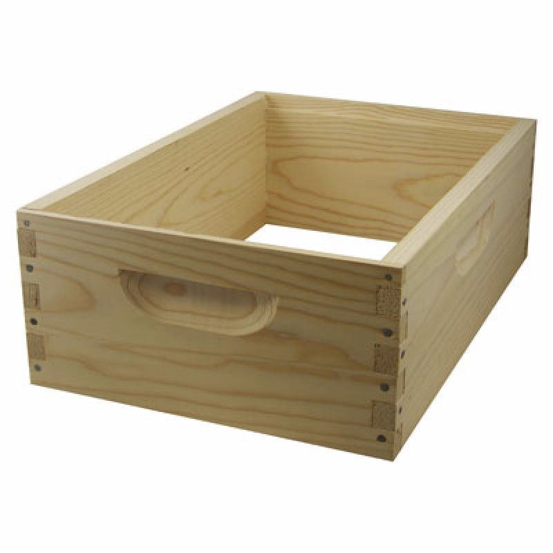 2017 Bee hive accessories manufacturer directly supplies beehive brood box and super box for re-sellers