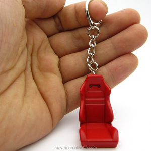 metal Auto Racing Seat model Keychain Car Parts Tuning Key Ring Chain collections Llavero