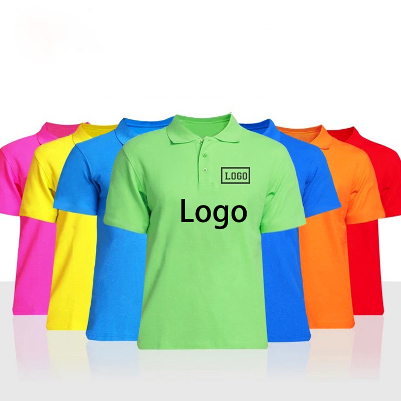 Custom Printing Promotional T shirts With Your Logo Design Polo Shirt