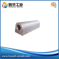 China anti-corrosion sacrificial magnesium anode