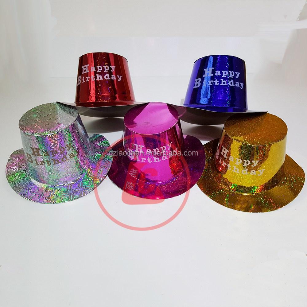78ffb5d471d Barato al por mayor colorido hombre sombrero de fiesta de cumpleaños para  la promoción