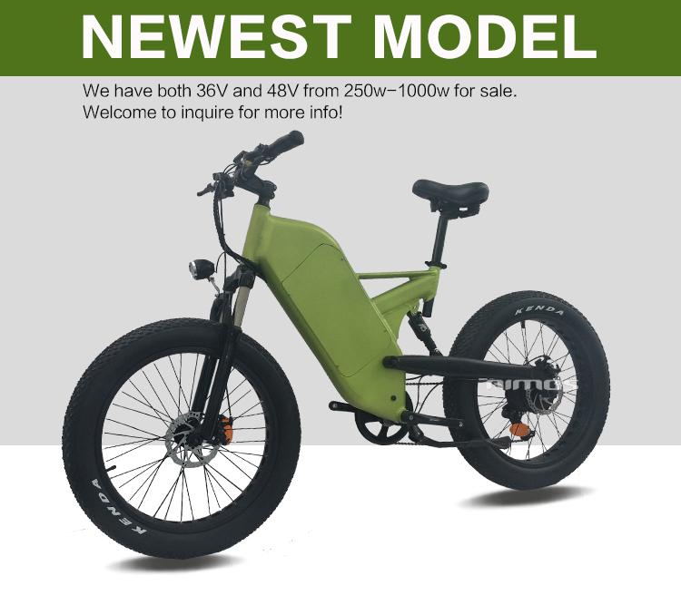 1bb03442e73 double suspension fat tire mountain trek electric bicycle 1000w ...