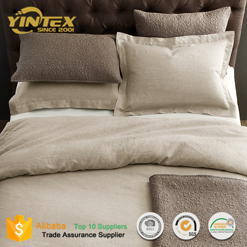 Good Supplier Solid 100% Cotton Stock Lot Bed Sheet