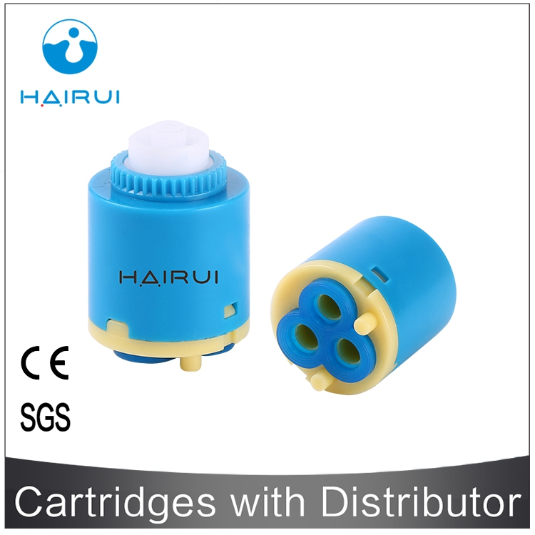 H28D-A02 28mm plastic shell double seal faucet ceramic mixer cartridge