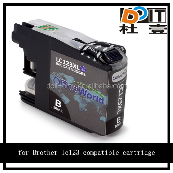 Top consumable products! LC 123 LC 125 LC 127 refill ink cartridge for Brother MFC-J 4610 DW