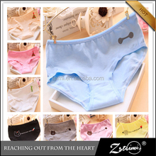 Professional Supplier Cute Girls Panty 100 Cotton Underwear