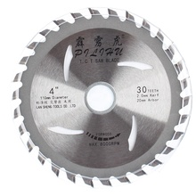<span class=keywords><strong>4</strong></span> inch Houtbewerking Saw Cutter Blade TCT Circulaire Zaagbladen Voor Snijden Hout