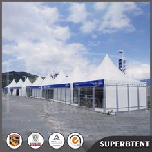 Small 5x5m Aluminum PVC White Garden Event Outdoor Party Marquee Decorated Wedding Pagoda Gazebos Tents for Sale