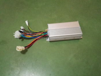 High quality 36v350w 12-14A electric bicycle dc motor controller