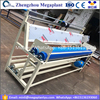 Automatic cloth fabric rolling and inspection machine with rolling stone