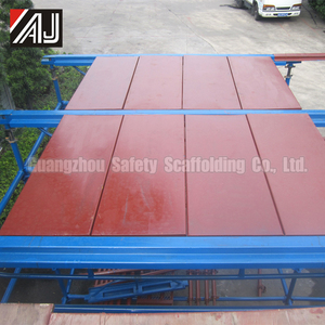 African Shuttering Plate Type Concrete Slab Formwork (Concrete Slab Formwork Scaffolding System)