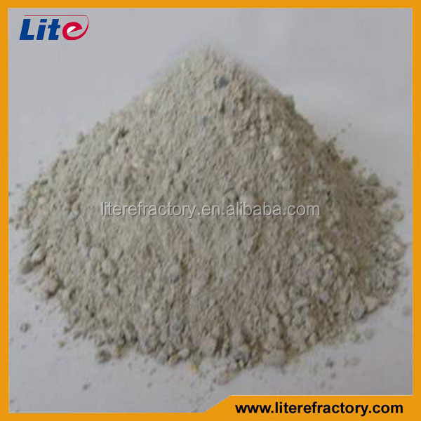High Alumina Fire Clay and Mullite Refractory Thermal Insulation Mortar Powder for Insulating Brick