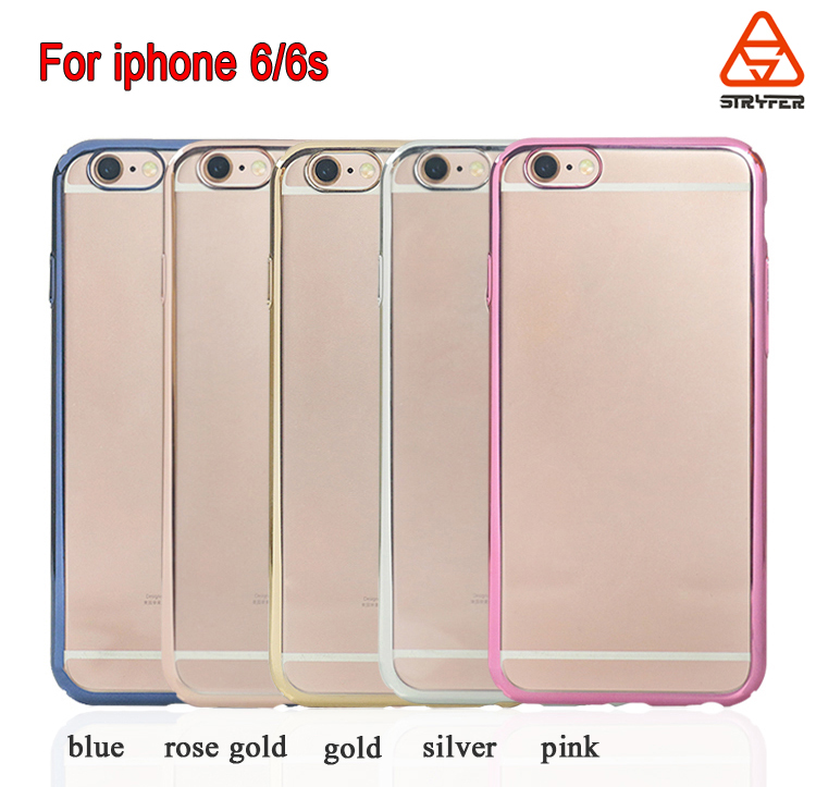 the best attitude 2d56e e8176 For Iphone 6s/6 Gold Rose Gold Color Electroplate Mobile Phone  Cover,Electroplate High End Phone Case For Iphone 6/6s - Buy For Iphone  6s/6 Gold Color ...