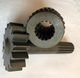 The wheel shaft and the sun wheel for XL210K road mixer, reducer 800307349