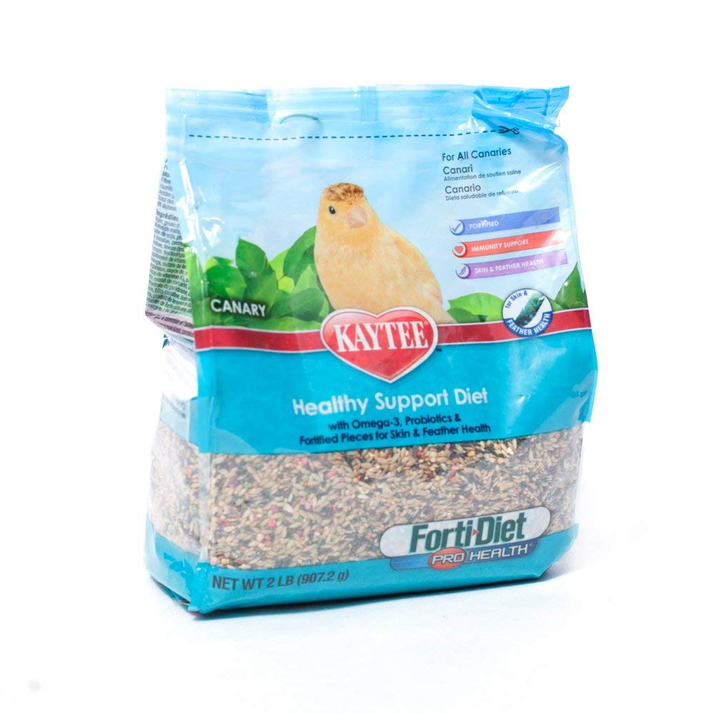 KAYTEE PRODUCTS 715240 forti-Diet 6-Pack Pro Health for Canary, 2-Pound