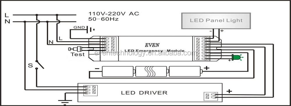 HTB1_iNDHpXXXXXfaFXXq6xXFXXXz emergency test button for led emergency lighting kits, view test 2d lamp wiring diagram at fashall.co