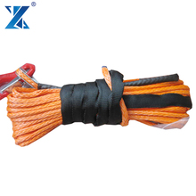 J-MAX anchor windlass rope and chain atv 4x4 winch rope with thimble/protective sleeve/hook packed in whole set for sale