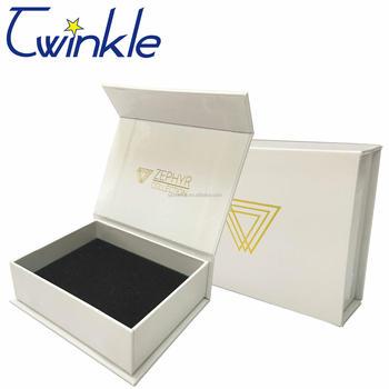 Custom Made Rigid Cardboard Bracelet Gift Box With Strong Quality
