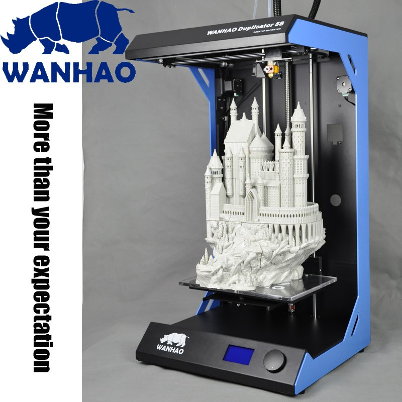 Big Printing size 3d printer 610*570*950mm Wanhao Duplicator 5s 3d Printing Machine New Style 3d Printer for Sale