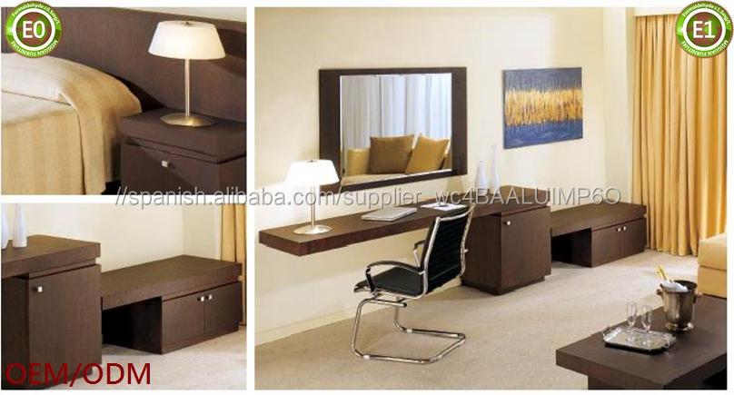 Tablero partical melamina muebles de dormitorio del hotel holiday ...