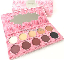 Cosmetics hight quality 10 colors eyeshadow wholesale the best make up eyeshadow