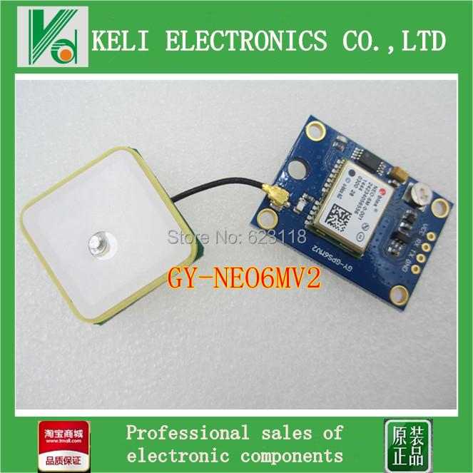 Free shipping 1PCS GY-NEO6MV2 new NEO-6M GPS Module NEO6MV2 with