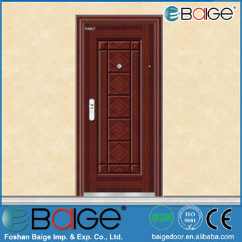 BG S9011 Unique Home Designs Security Doors / Steel Frame Door /turkish  Steel Door