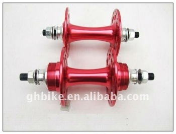 red color 700C fixed gear flip- flop alloy hub sealed bearing hub