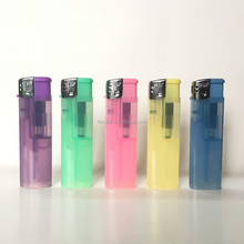 new atomic plastic gas plastic lighters FH-808 semi-clear