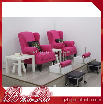 Wholesale Foot Spa Chair Pedicure Nail Salon Equipment For Sale Pink ...