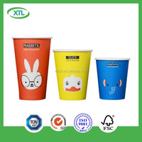 Beverage Use hot drink cup Disposable food-grade double paper mugs christmas manufacture