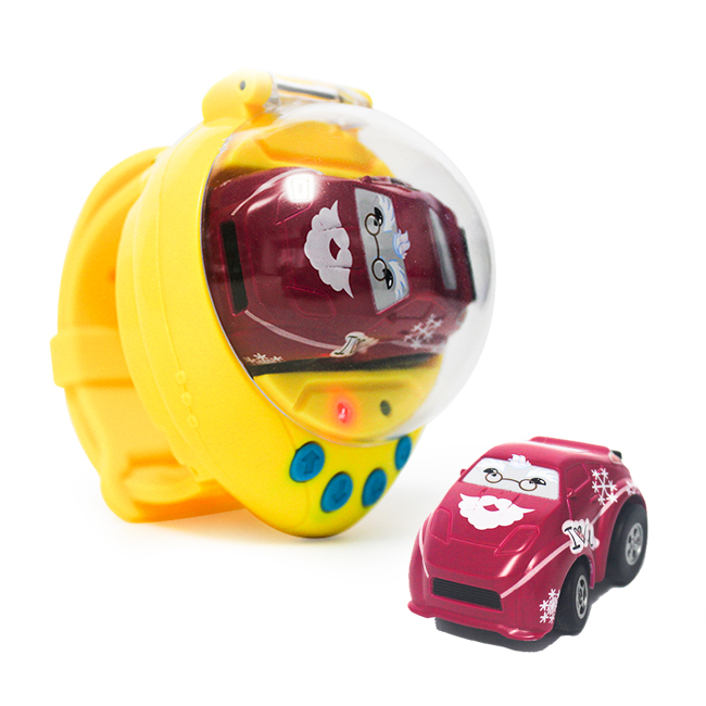 2018 Educational Car Toy Watch Remote Control Kids Mini Electric