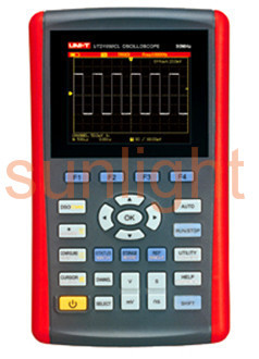 Handheld Digital Storage Oscilloscope, 50MHz Bandwidth, Single Channel, 200MS/s Sample Rate, USB Communication, UTD1050CL
