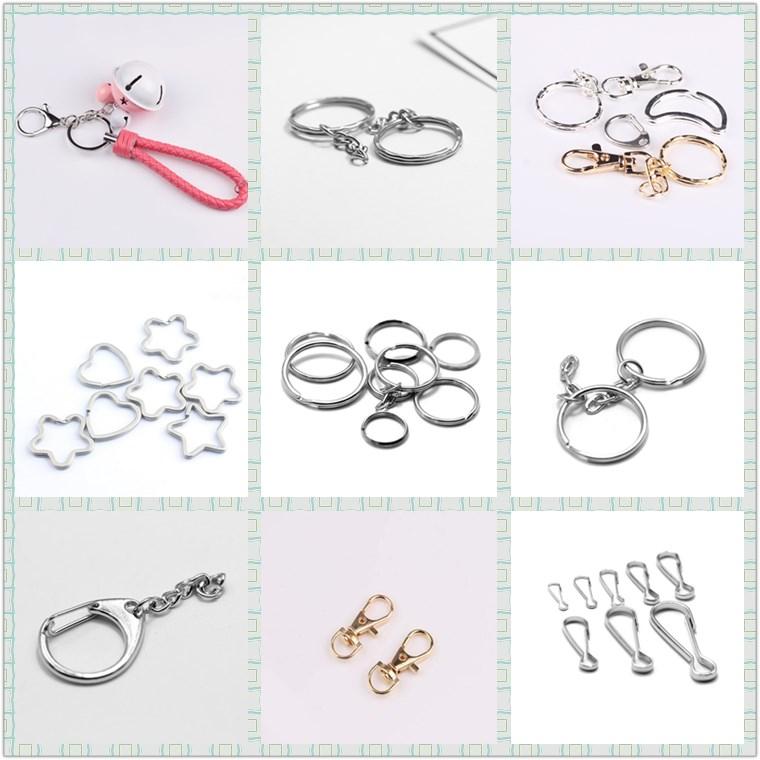 16mm blank stainless steel split rings keyring key ring