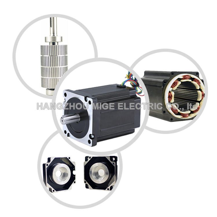 hybrid 85BYG350B 4.5Nm lowest cost step motor with driver