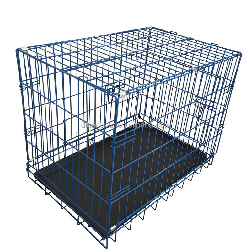 iron metal dog used cage pet playpen