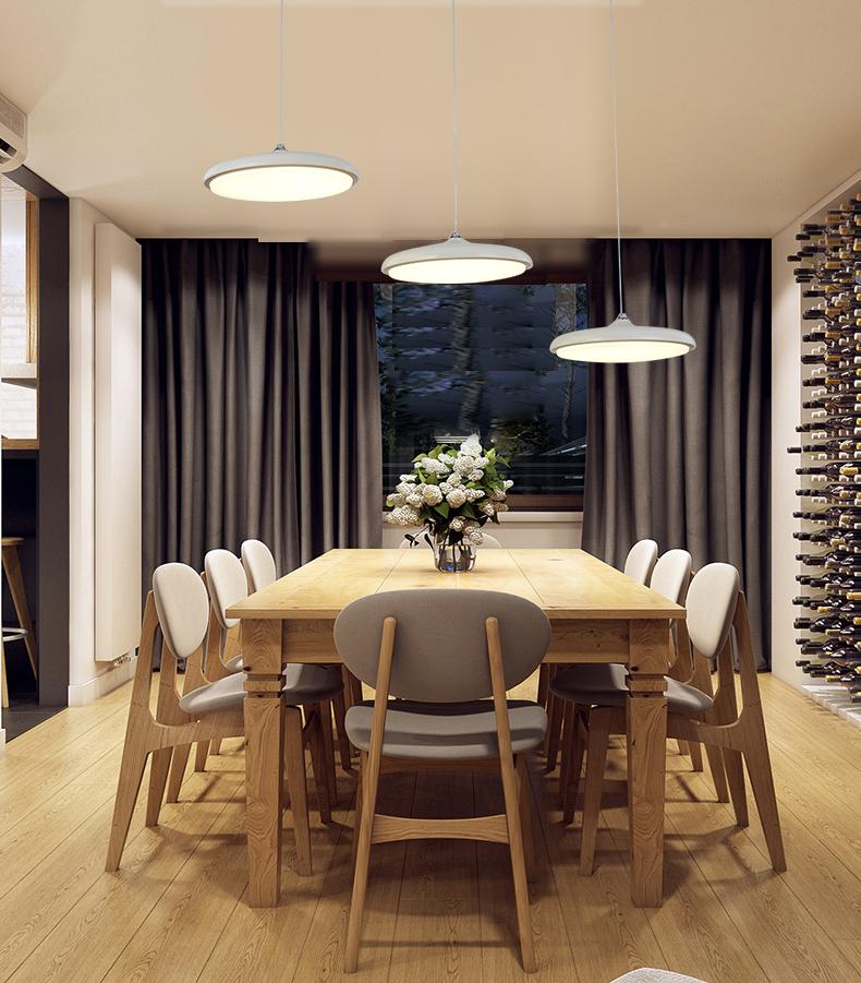 Chandelier Gantung Lampu Naungan Perlengkapan Pencahayaan Modern Ruang Tamu Led Pendant Cahaya Dekoratif