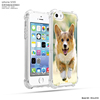 Shock-absorbing air sac gel beautiful mobile phone cover for iphone 5s cover logo