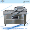 Easy operate double chambers mutton nitrogen gas flush vacuum sealing machine with CE