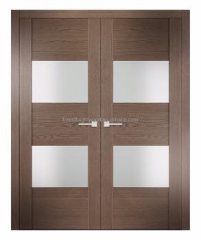 Modern Frosted Glass Interior Wooden Bedroom Doors Buy Wood