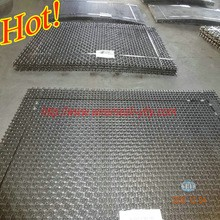 new 65Mn steel pre-crimped wire mesh for stone crusher and mining