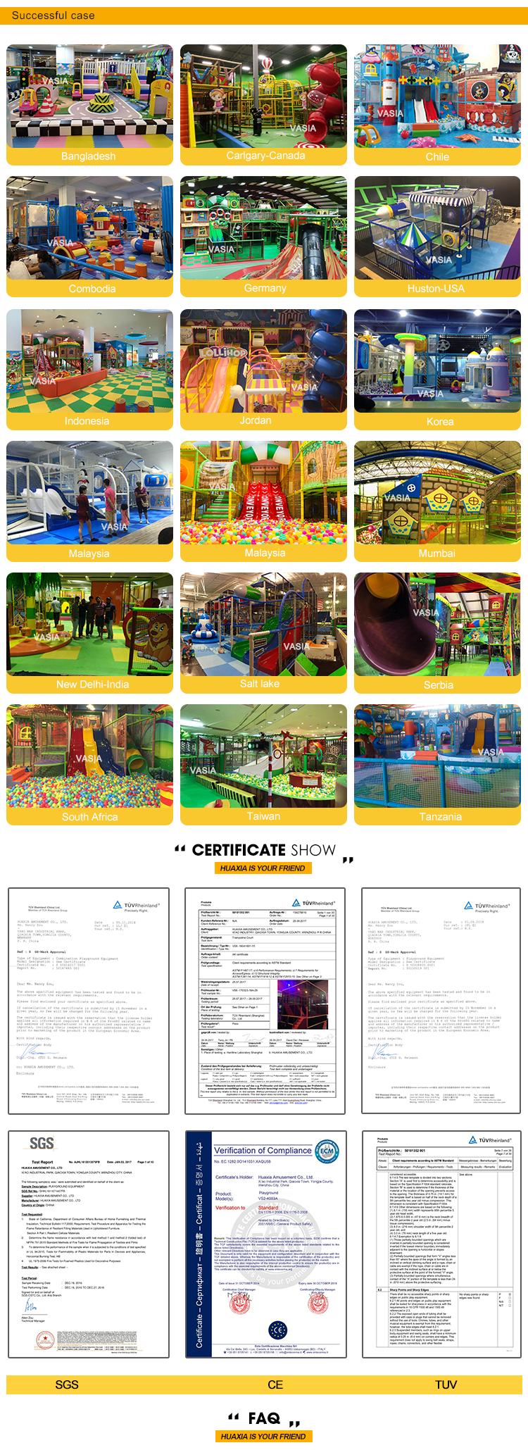 Vasia đồ chơi trẻ em vui chơi giải trí công viên sản phẩm trong nhà thiết bị sân chơi mềm chơi thiết bị