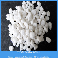 white marble garden decorative pebble stone