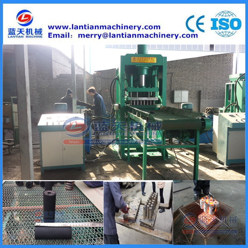 Powder shaping hydraulic briquette making press machine